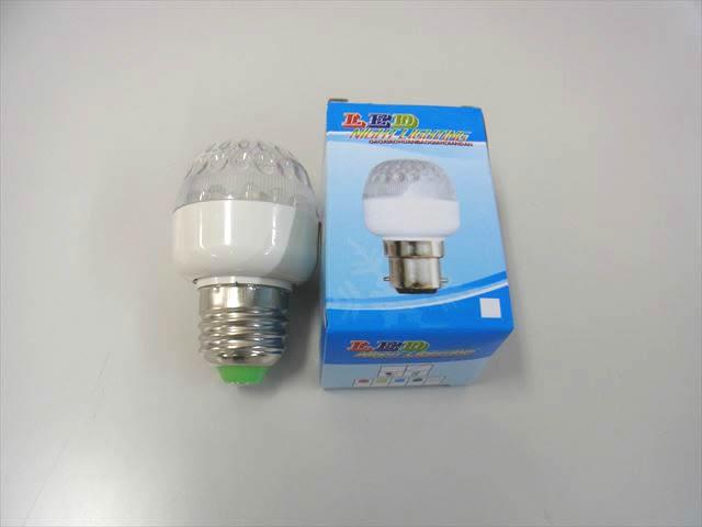 AC100V 1W LEDバルブランプの写真です。