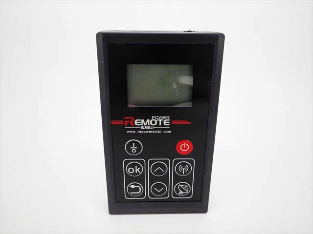 防水MPPTチャージコントローラー SDT-SF24A10TE(5A、10A共通)用 リモートコントローラーの写真です。