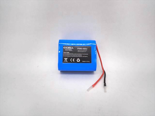 リン酸鉄リチウムイオンバッテリー 6V4.5Ah lifepo4(O'cell) ※ケーブル付の写真です。