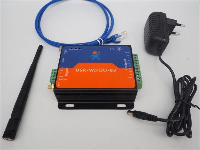 DC12V用 Wifiリモートコントロールリレースイッチ USR-WIFIIO-83の写真です。