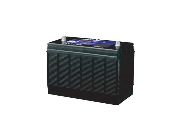 ACデルコ ディープサイクルバッテリー DC27(105Ah)の写真です。