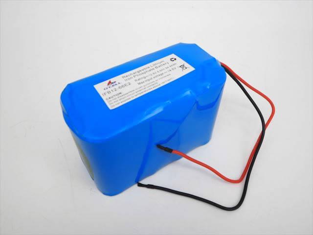 リン酸鉄リチウムイオンバッテリー 12V6.6Ah lifepo4(O'cell)の写真です。