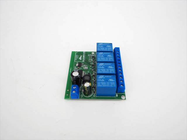 DC6V〜24V用 Bluetooth スマートスイッチ 4Ch FZ1916の写真です。