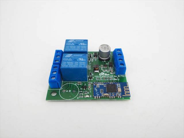 DC5V/DC6V〜24V用 Bluetooth スマートスイッチ 2Chの写真です。