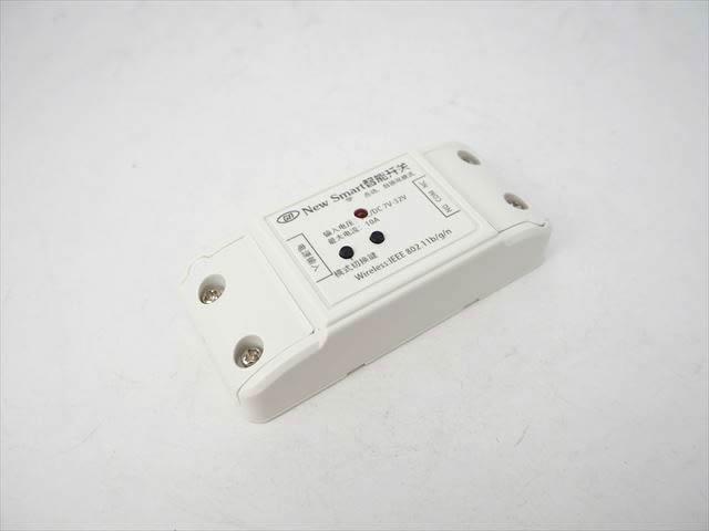 DC7V〜32V用 Wifi スマートスイッチ 1Ch XFX1CH ※ロック、インチングの写真です。