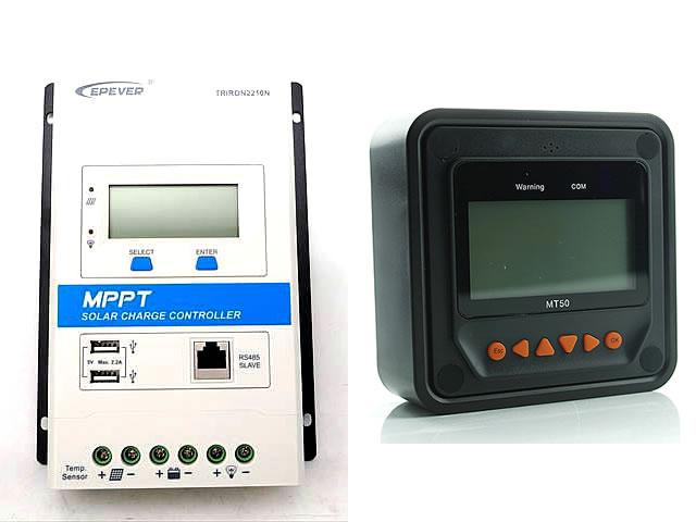 MPPTチャージコントローラー TRIRON2210N-DS1-UCS(20A) MT50
