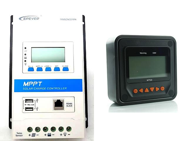 MPPTチャージコントローラー TRIRON3210N-DS2-UCS(30A) MT50