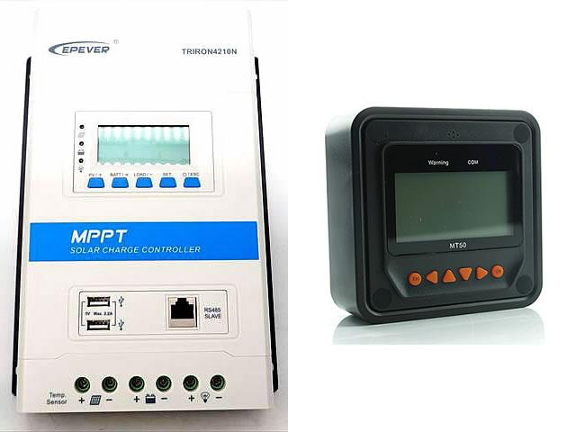 MPPTチャージコントローラー TRIRON4210N-DS2-UCS(40A) MT50