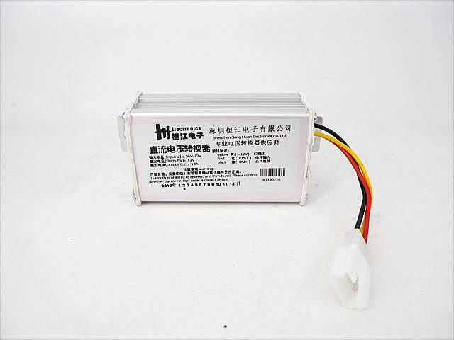 DC-DCコンバーター/ステップダウンコンバーター(DC36V〜DC72V→DC12V) 10A 120Wの写真です。