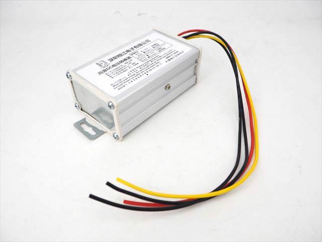 DC-DCコンバーター/ステップダウンコンバーター(DC36V〜72V→DC12V)10A ※コネクタ無しの写真です。