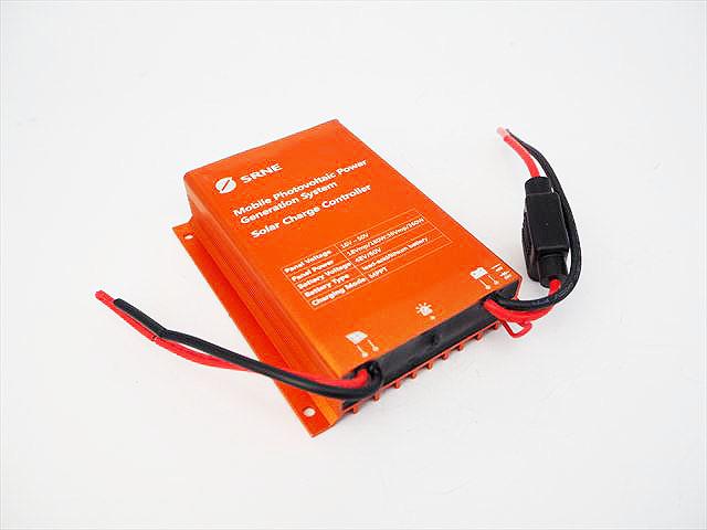 昇圧型 防水MPPTチャージコントローラー HV6008N(8A)※48V/60Vバッテリー用の写真です。