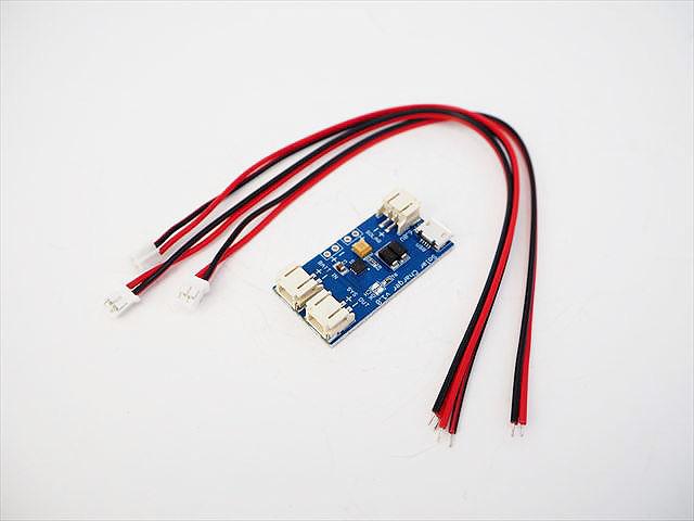 マイクロUSB&ミニソーラーリポ充電器ボード CN3065(3.7V:500mA)の写真です。