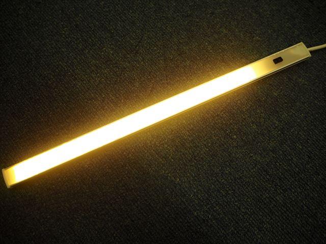 DC5V USB専用 4W ハンドウェーブセンサー付き LEDバーライト 30cm※Warm whiteの写真です。