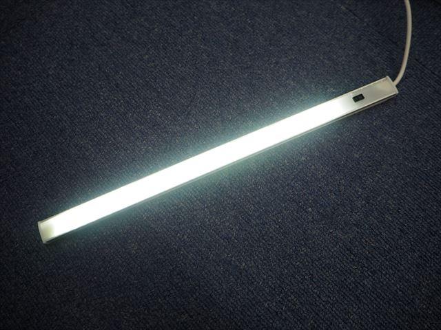 DC5V USB専用 4W ハンドウェーブセンサー付き LEDバーライト 30cm※Whiteの写真です。