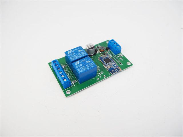 DC5V/DC6V〜24V用 Bluetooth スマートスイッチ 2Ch ※マイナス端子共通の写真です。