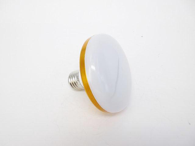 AC100V〜220V用 E27 15W UFO型 LED照明ライト ※Cold Whiteの写真です。