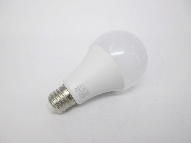 AC220V〜240V用 E27 20W LEDバルブライト ※Warm whiteの写真です。