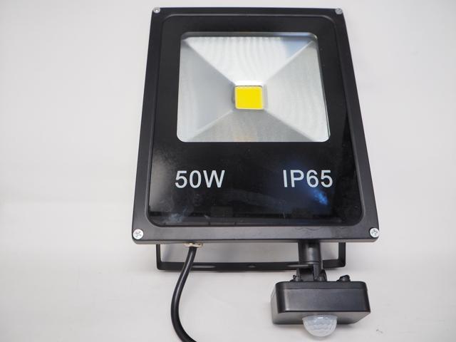 AC85〜265V用 50W モーションセンサー付 防水LEDライト ※Whiteの写真です。