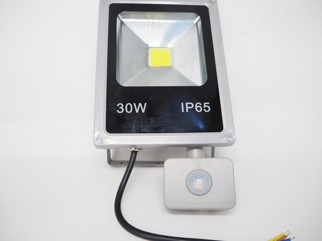 AC85〜265V用 30W モーションセンサー付 防水LEDライト ※Whiteの写真です。