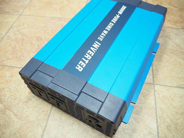 正弦波インバーター HL-2000P(48V)の写真です。