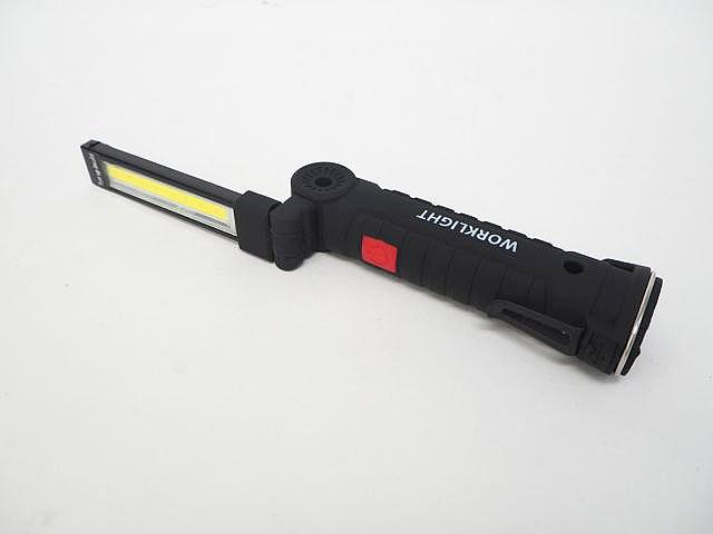USB充電式 折り畳みLEDトーチライト 5Wの写真です。