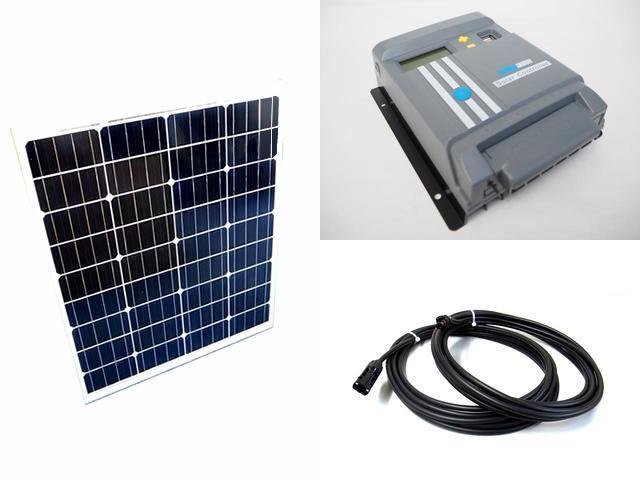 ソーラーパネル80W×2枚 (160W)+MPPT130D-WIFIの写真です。