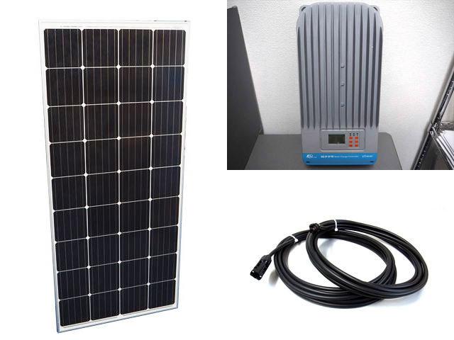 ソーラーパネル160W×20枚(3,200W)+eTracer ET6415BNDの写真です。