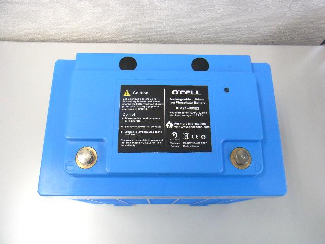 リン酸鉄リチウムイオンバッテリー 24V40Ah lifepo4(O'cell) 商品写真