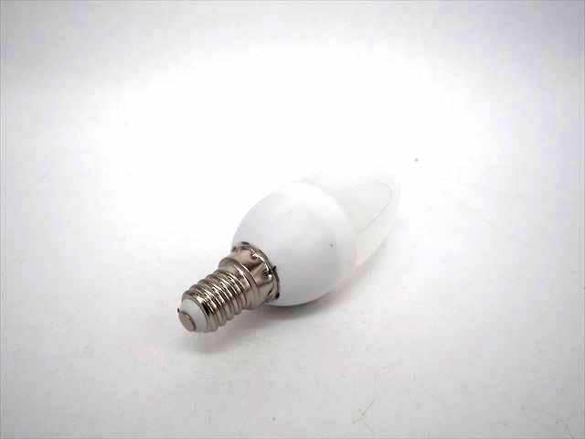 AC100V用 LEDキャンドルライト 3W(E14) ※Cold White 商品写真