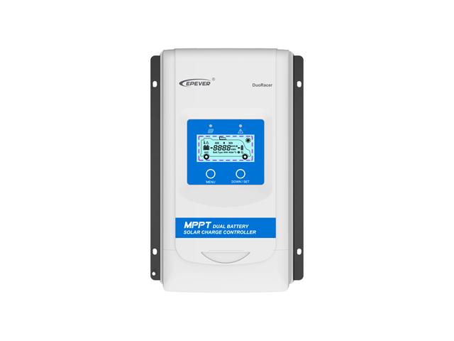 MPPTデュアルバッテリーチャージコントローラー DuoRacer DR2210N-DDS(20A)+リモートメーター MT11 商品写真