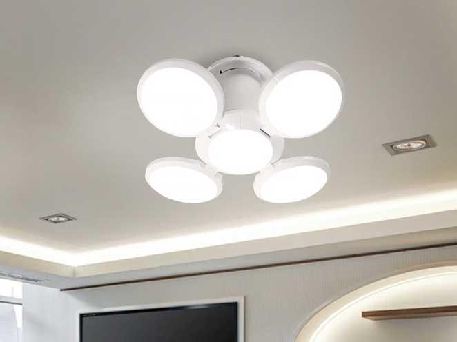 AC100V〜240V用 E27 ボール型LEDライト 40W ※Warm White +吊り下げホルダーセット 商品写真